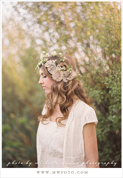 Adornments Inspiration Bridal Floral Headpieces