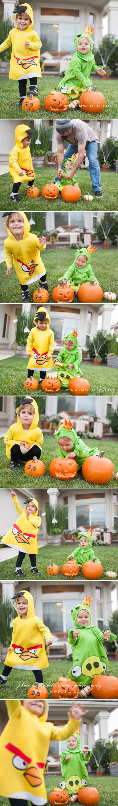 halloween kids photos angry birds